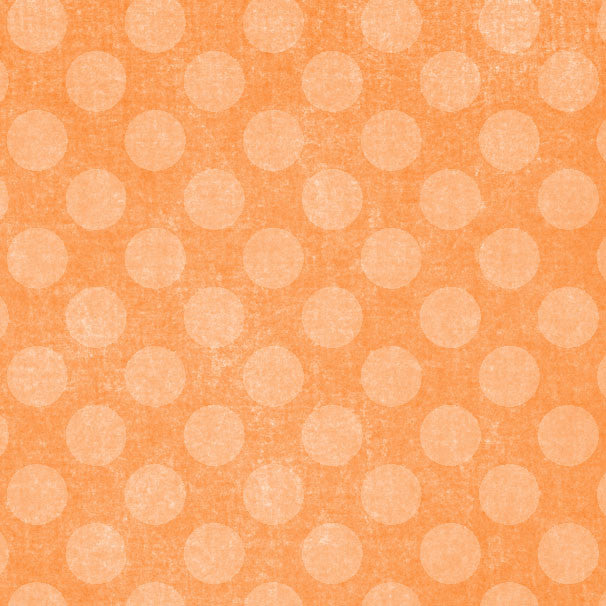*OFCD8 - Orange Fizz Chalky Dots 8 1/2 x 11 - One Sheet