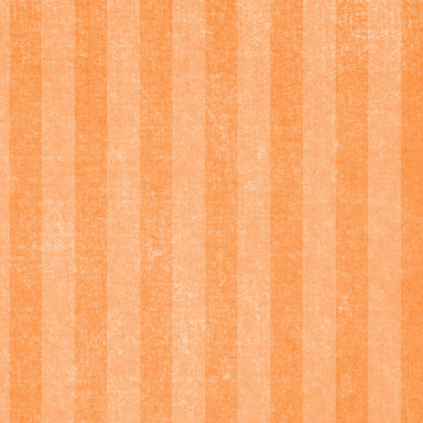 *OFCS8 - Orange Fizz Chalky Stripes 8 1/2 x 11 - One Sheet