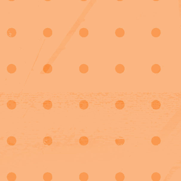 *OFID8 - Orange Fizz Inked Dots 8 1/2 x 11 - One Sheet
