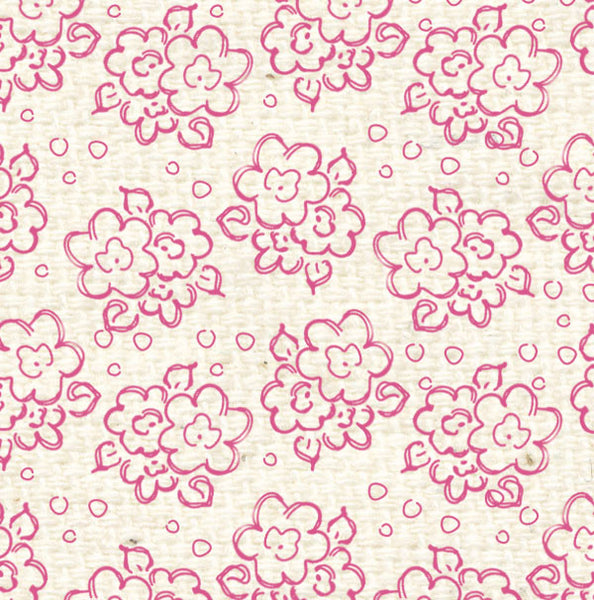 Pcdf8 Pink Cosmos Doodle Flowers Paper 8 1 2 Lasting Impressions For Paper