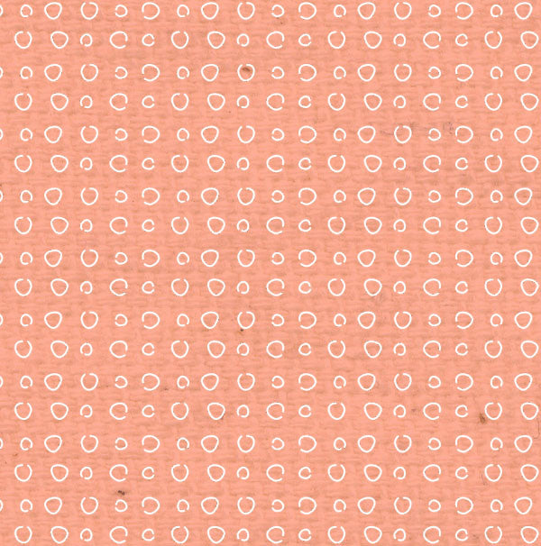 *PNCDD8  Peaches 'n Cream Doodle Dots Paper  8 1/2 x 11