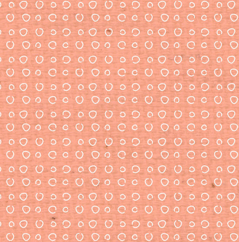 ***PNCDD8  Peaches 'n Cream Doodle Dots Paper  8 1/2 x 11