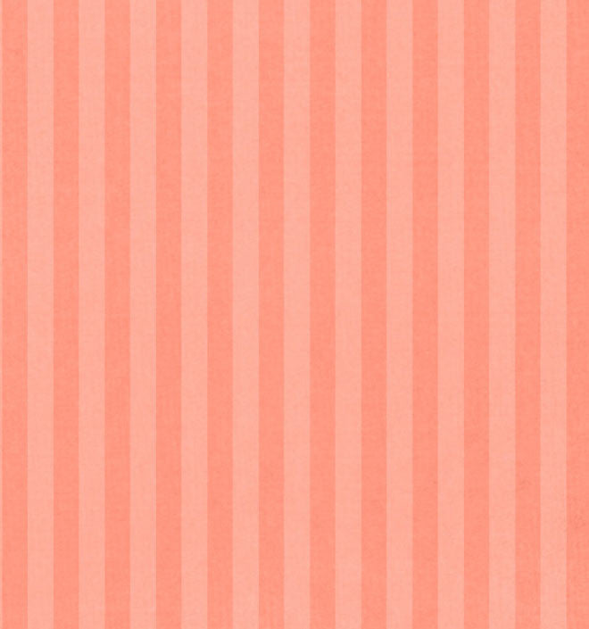 *PPDST81 Peach Parfait Stripes 8 1/2 x 11 - One Sheet
