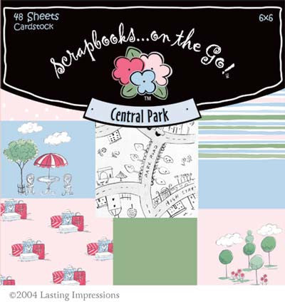 PTCP - Scrapbooks on the Go - Central Park 48 Sheets