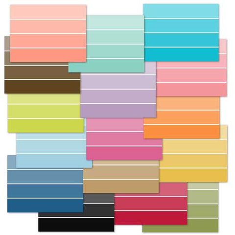 *PCCVP - Paint Chip Cards Variety Pack - 16 card pack