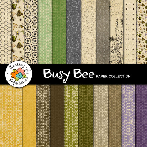 ****Busy Bee Paper Collection  8 1/2 x 11