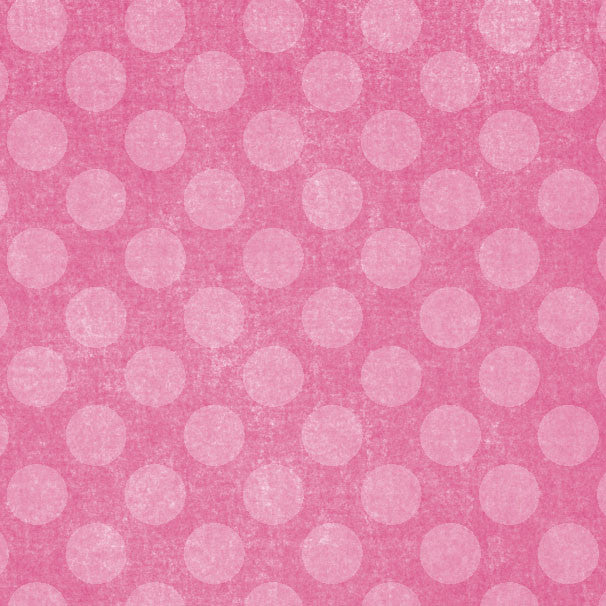 *PPECD8 - Pink Peonies Chalky Dots 8 1/2 x 11 - One Sheet