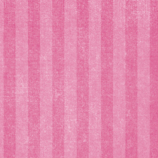 *PPECS8 - Pink Peonies Chalky Stripes 8 1/2 x 11 - One Sheet