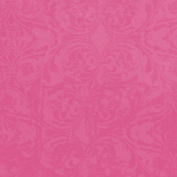 *PPEDM8 - Pink Peonies Damask 8 1/2 x 11 - One Sheet