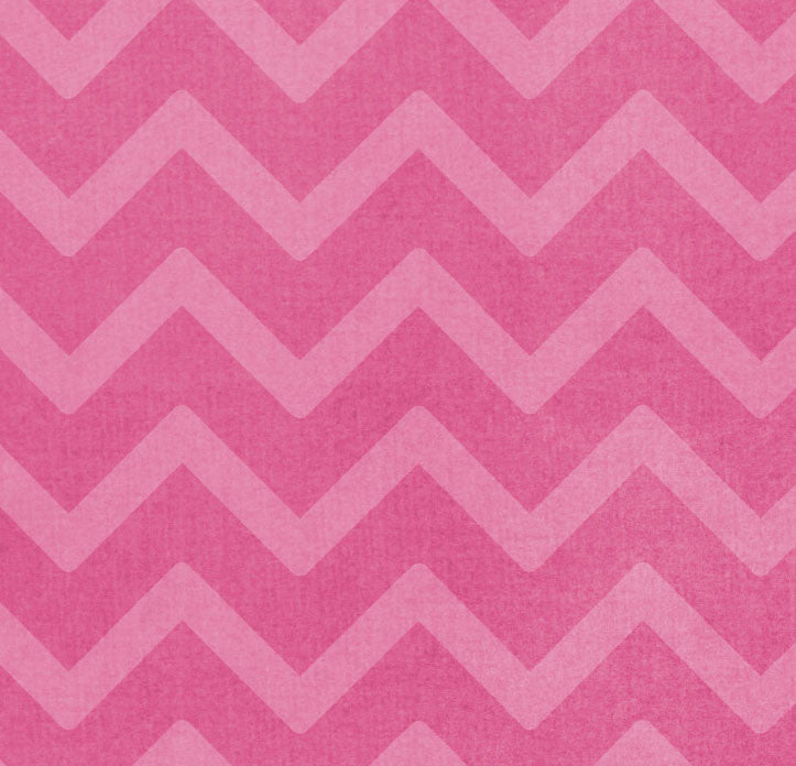 *RCCH8 Raspberry Cream Chevron 8 1/2 x 11 - One Sheet