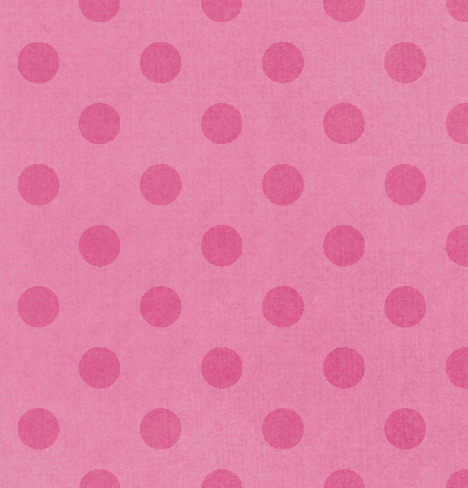 *RCDO8 Raspberry Cream Dotty Dots 8 1/2 x 11 - One Sheet