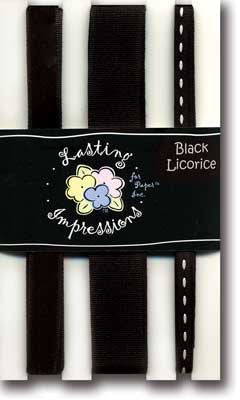 Ribbon Pack - Black Licorice