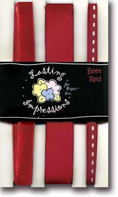 Ribbon Pack - Beet Red
