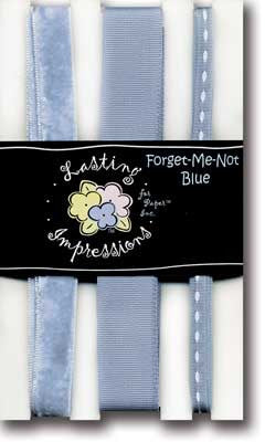 RIBBON FORGET ME NOT BLUE