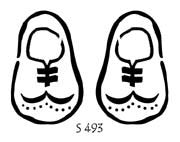 S493 - Wing tip (Shoes)