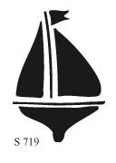 S719 - Sail Boat with Keel