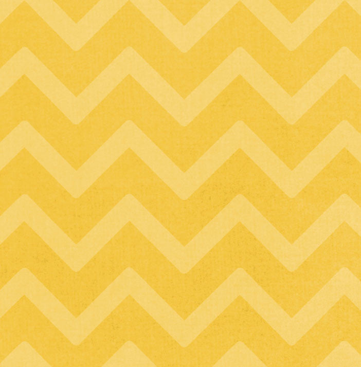 *SFCH8 Sunflower Chevron 8 1/2 x 11 - One Sheet