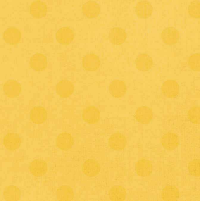 *SFDO8 Sunflower Dotty Dots 8 1/2 x 11 - One Sheet