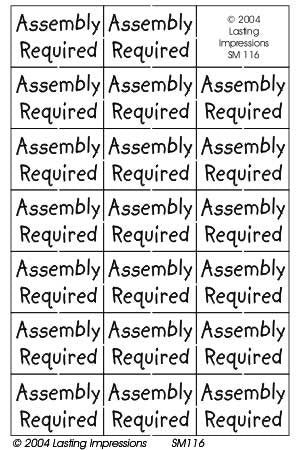 SM116 Brass - Assembly Required