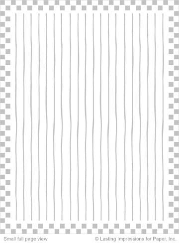 PreEmbossed Squares w/ Stripes Kraft 8 1/2 x11 - 5 Sheets