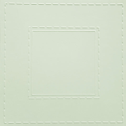 Simply Square Stitched White Cards