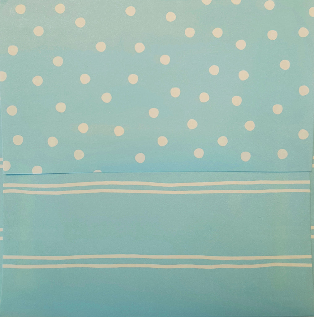 Simply Square Boardwalk Blue Envelopes