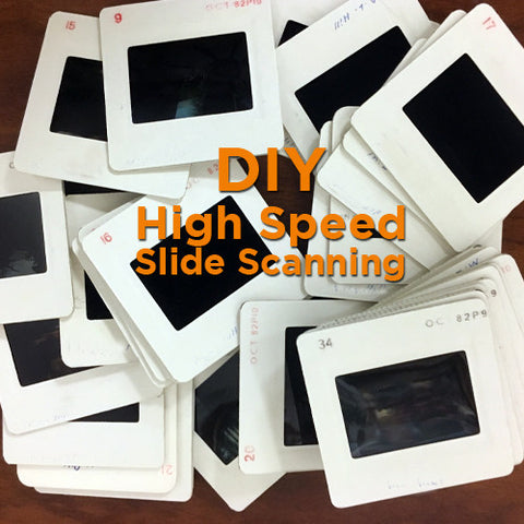 Slide Scanning - DIY