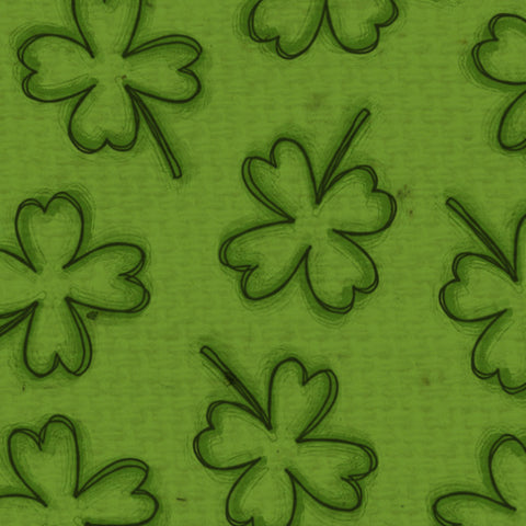 *****ESH8 - Emerald Shamrocks Paper  8 1/2 x 11