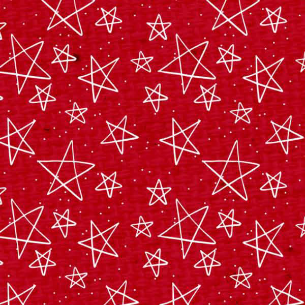 *SSRWDSL - Red Wagon Doodle Stars Light