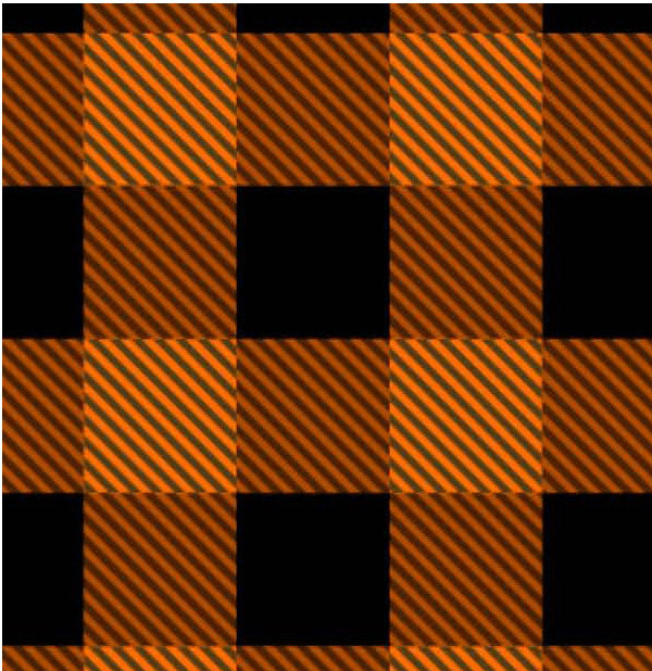 **BPOP - Buffalo Plaid Orange Poppy