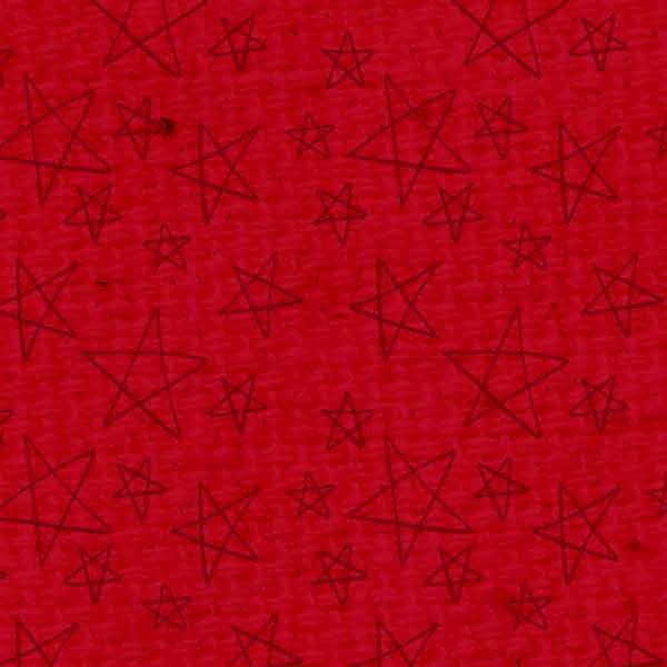 ******Red Wagon Doodle Stars Dark