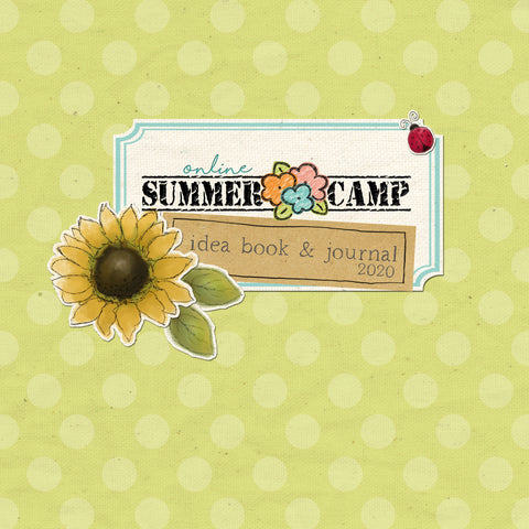 Summer Camp Idea Book & Journal - 2020