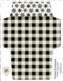 ********A2 Envelopes DIY Buffalo Plaid and Holly Berry
