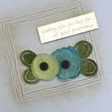 **Touch of Spring Embossing Card Kit - Available in 3 Colors