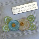 *Touch of Spring Embossing Card Kit - Available in 3 Colors