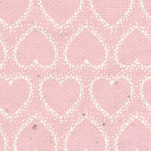 *HK - Pink Hearts 8 1/2 x 11 - One Sheet