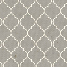 *HK - Gray Quatrefoil 8 1/2 x 11 - One Sheet