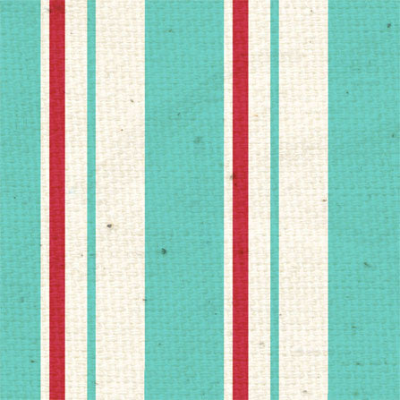 *Vintage Love Stripes 8 1/2 x 11 - One Sheet
