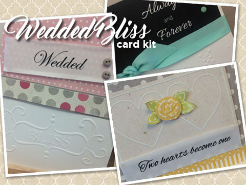 *Wedded Bliss Card Kit