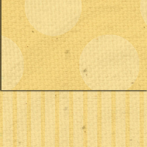 ***Daylily Dots & Stripes Double Sided Cardstock