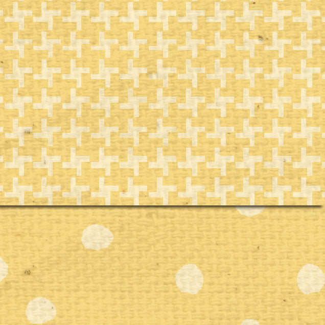 **DSDLMT Daylily Martha Dots & Tweed Double Sided Cardstock
