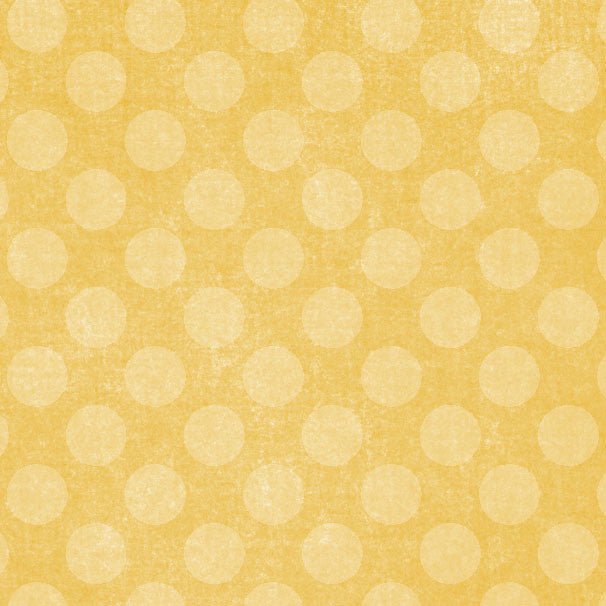 *YDCD8 - Yellow Daisies Chalky Dots 8 1/2 x 11 - One Sheet