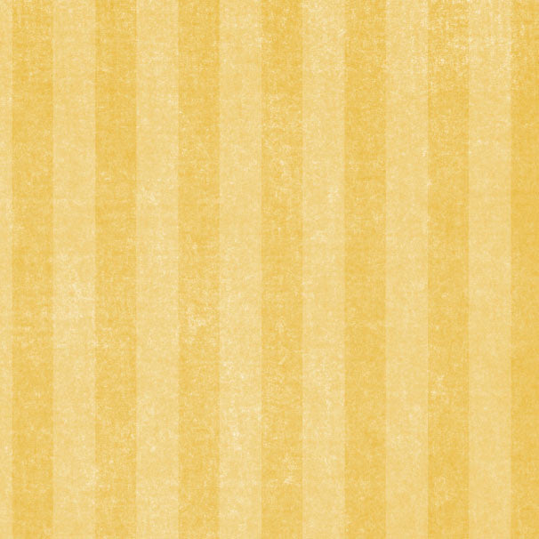 *YDCS8 - Yellow Daisies Chalky Stripes 8 1/2 x 11 - One Sheet