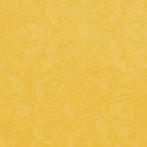 *YDDM8 - Yellow Daisies Damask 8 1/2 x 11 - One Sheet