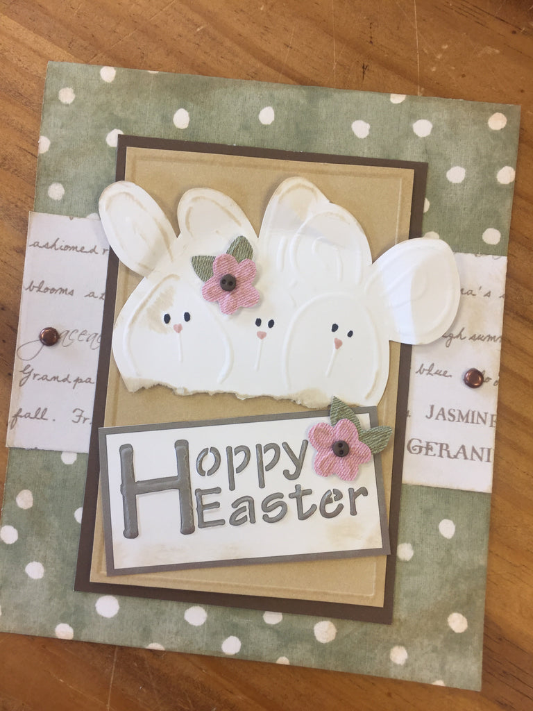 Hoppy Easter Handmade Card