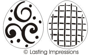 L9470 - FANCY EGGS TEMPLATE