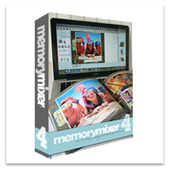 MemoryMixer 4 Digital Scrapbooking Software - On Disk