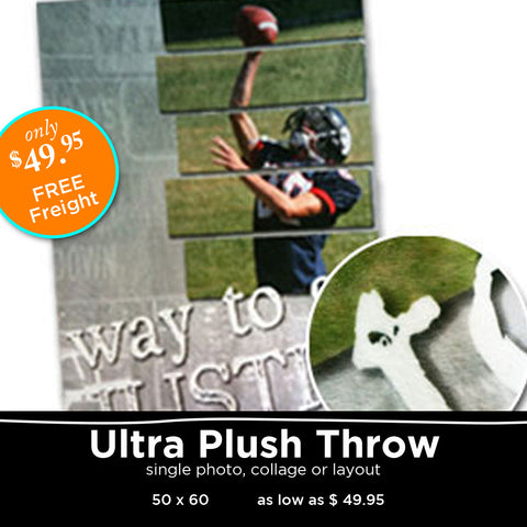 Personlized Ultra Plush Throw
