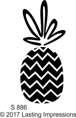 *****S886 - Pineapple Chevron