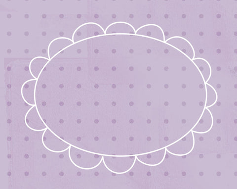 *DFCGF - Doodle Frame Cards Grape Fizz - 10 card pack